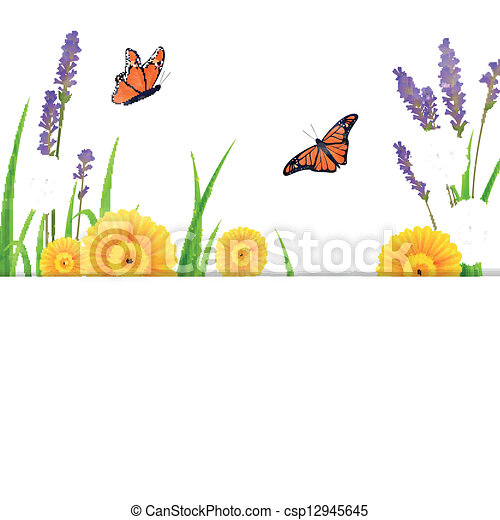 Vector Nature Background - csp12945645