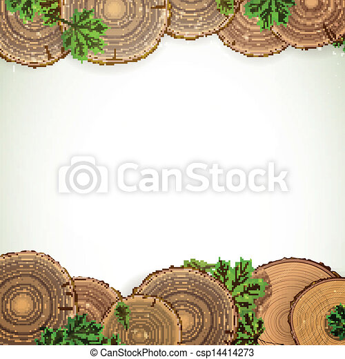 Vector Nature Background  - csp14414273
