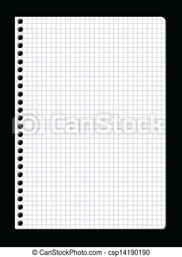 Vector note paper - csp14190190