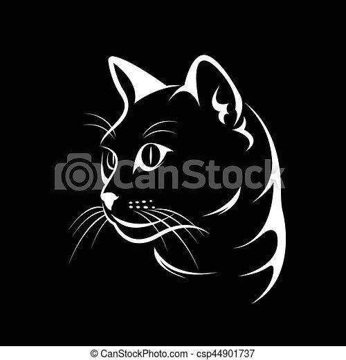 Cat Drawings Face