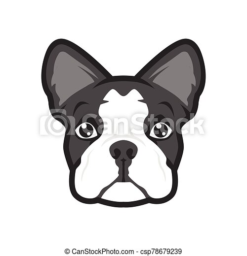 Vector Cartoon Character Cute Pug Dog Poses Stock Vector - Illustration of  element, friend: 123402408