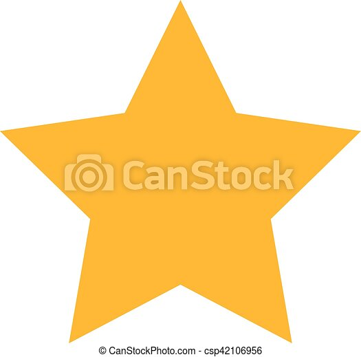 Vector Of Gold Star Icon On Gray Background Clipart Vector Search