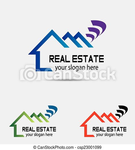 Vector of house logo - csp23001099
