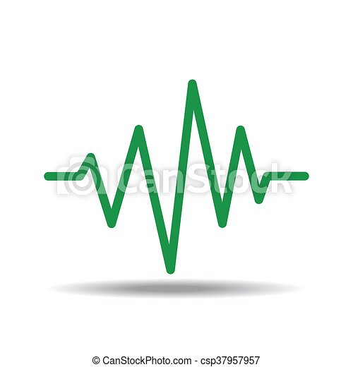 vector of sound waves oscillating rh canstockphoto ca sound waves vector art free download