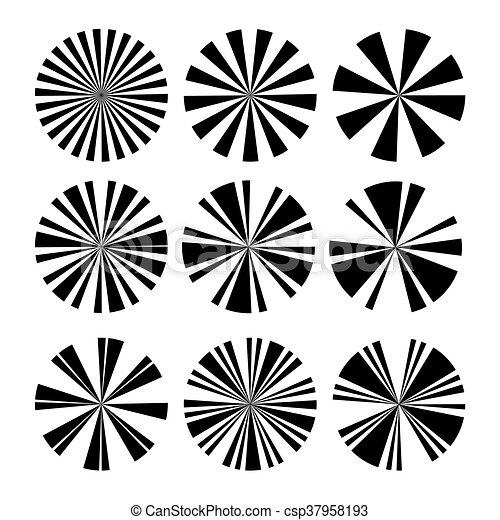 vector of sun ray rh canstockphoto com sun ray vector tutorial sun ray logo vector