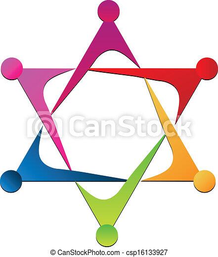 Vector of unity team logo - csp16133927