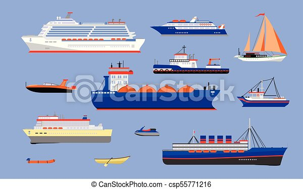 vector of water transport
