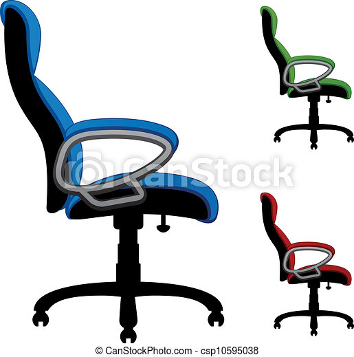 Vector Office Chairs Vectors