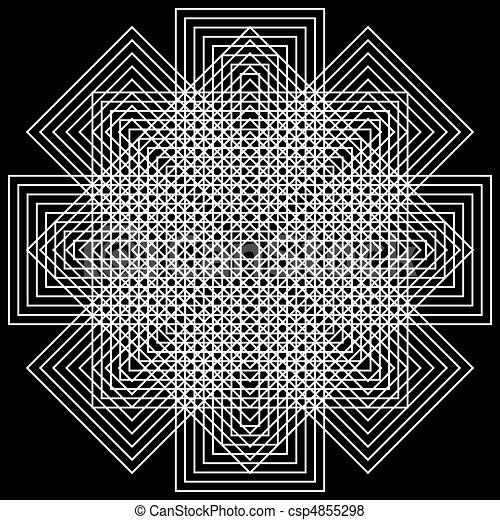 vector, optisch, kunst - csp4855298