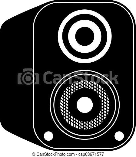 Vector de icono de altavoz - csp63671577