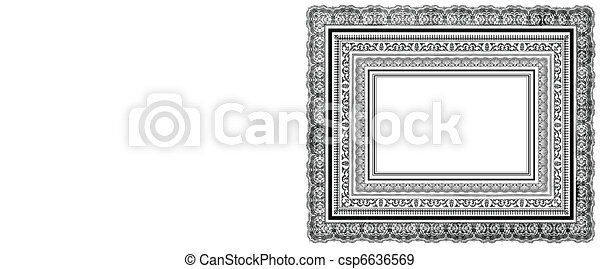 Vector Ornate Layered Frames - csp6636569