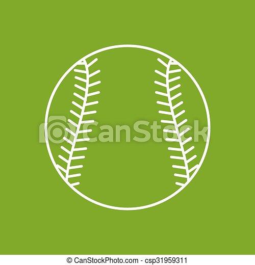 Vector outline icon - csp31959311