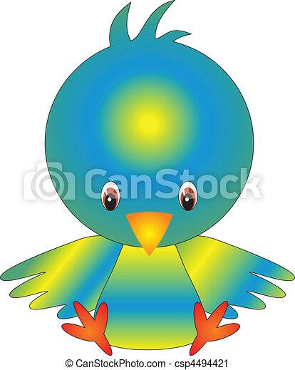 Vector de aves - csp4494421