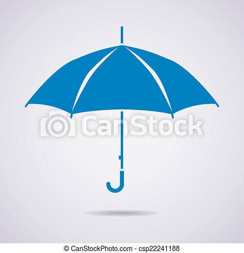 Icono Vector paraguas - csp22241188