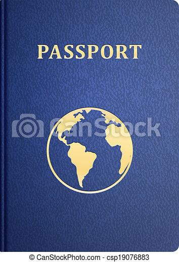 vector passport - csp19076883