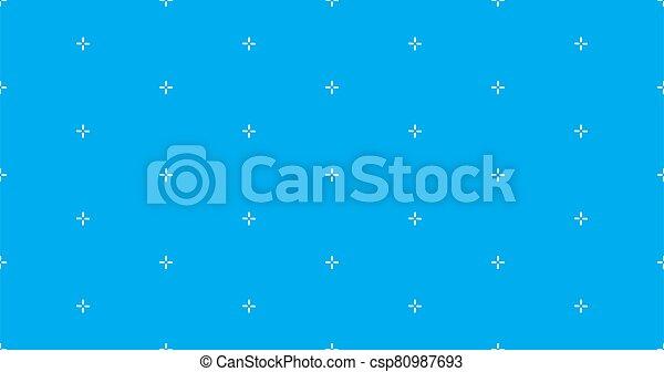 vector, patrón, seamless, puntería, más, fondo., ilustración, acción, patern., geométrico, cruz, stich - csp80987693