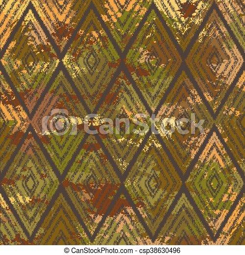 vector pattern tribal navajo - csp38630496