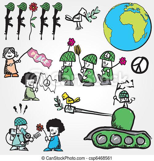 Vector peace concept symbol anti war vector clip art search vector peace concept symbol voltagebd Choice Image