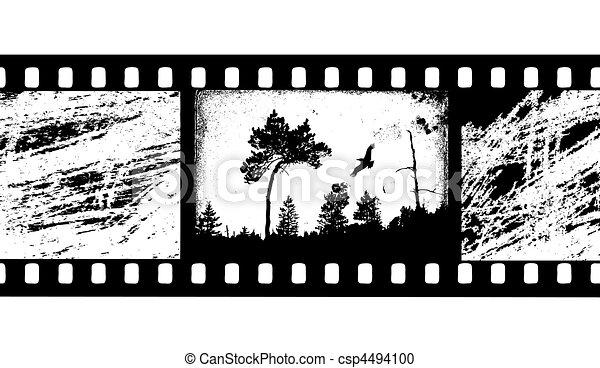 Cine de cámara vector - csp4494100