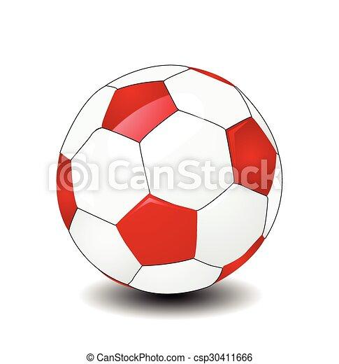 Futbol Vector - csp30411666