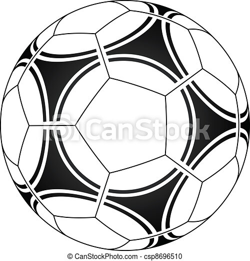 Una pelota de fútbol - csp8696510