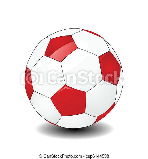 Una pelota de fútbol - csp6144538