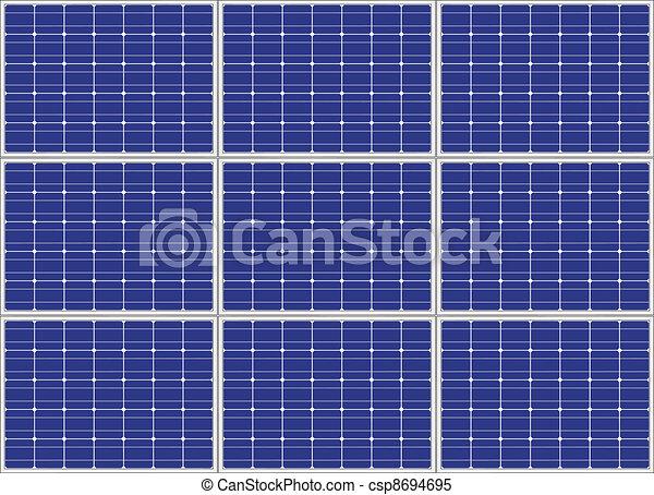 vector photovoltaic panel - csp8694695