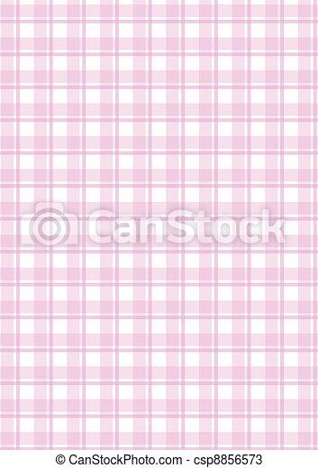 Vector pink checkered background - csp8856573