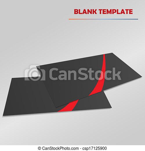 Vector de plantilla en blanco - csp17125900