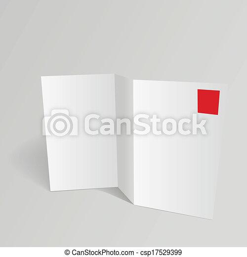 Vector de plantilla en blanco - csp17529399