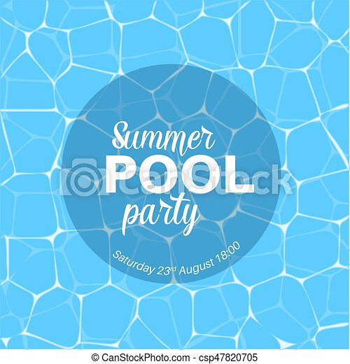 pool party template