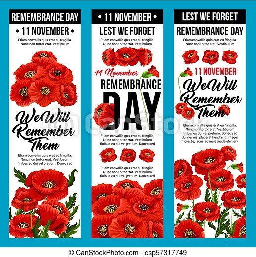 Vector poppy banners remembrance day 11 november 11 november vector poppy banners remembrance day 11 november mightylinksfo