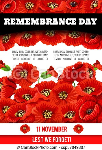 Vector poppy poster of remembrance day 11 november 11 november vector poppy poster of remembrance day 11 november mightylinksfo