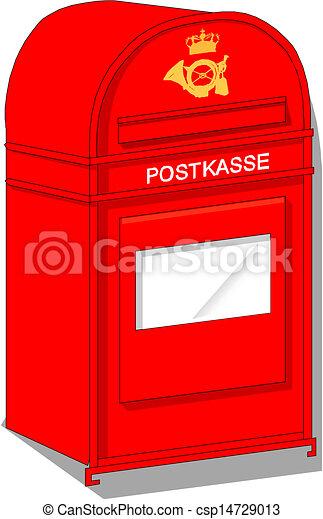 Vector Postbox Icon - csp14729013