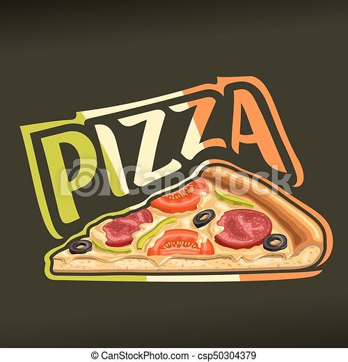Vector Poster For Pizza