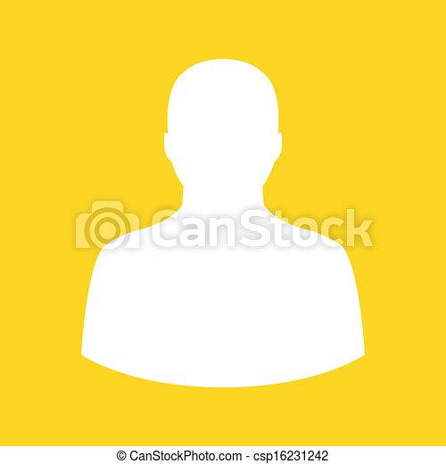 Vector Profile Icon  - csp16231242