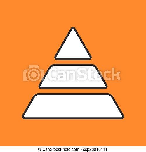 vector pyramid icon eps10 vector flat pyramid icon vector clip rh canstockphoto ca pyramid clipart black and white food pyramid clipart