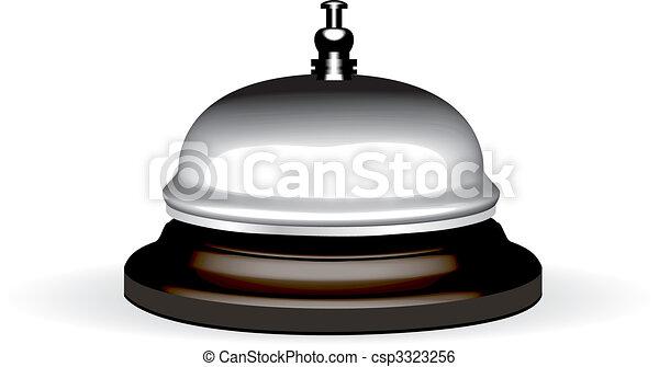 Vector realistic hotel bell - csp3323256