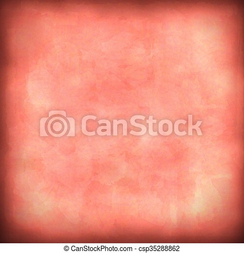 Vector red abstract background. - csp35288862