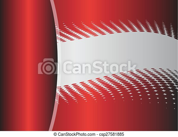 Vector red abstract, background  - csp27581885