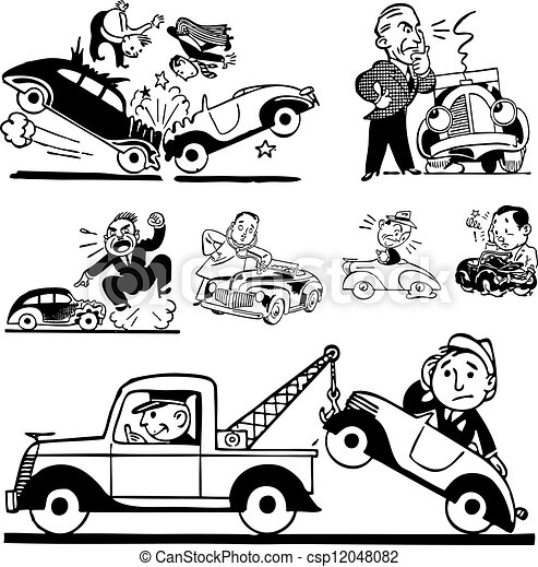 Road Accidents Clipart High Resolution Stock Photography and Images - Alamy