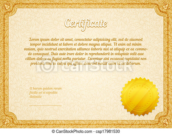 Vector retro frame certificate template retro frame vectors vector retro frame certificate template yadclub Images