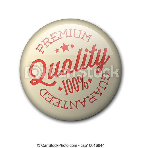 Vector retro premium quality badge - csp10016844