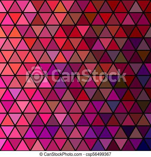 vector retro triangle grid pattern background design vector retro