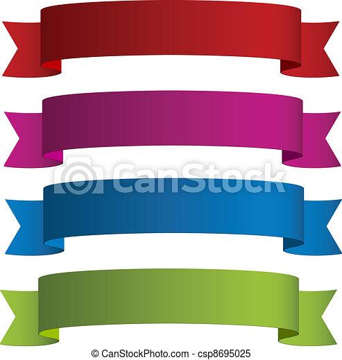vector ribbons - csp8695025