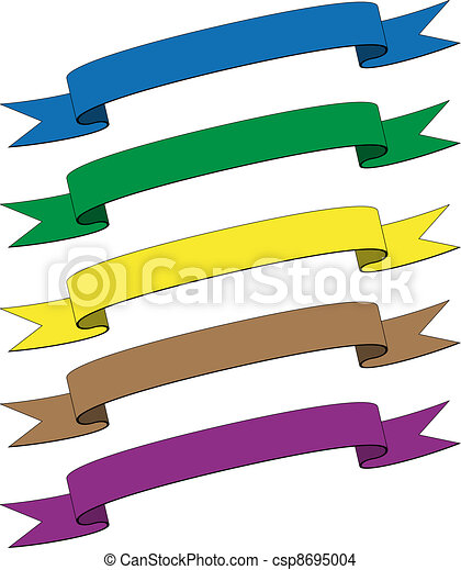 vector ribbons eps vector search clip art illustration drawings rh canstockphoto com vector ribbon banner corel draw 2017 vector ribbon bow commercial use
