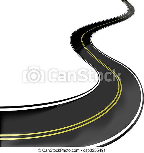 Vector road - csp8255491