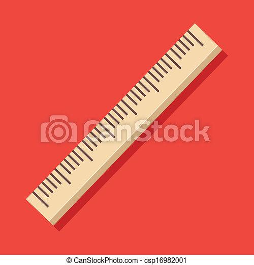 Vector Ruler Icon  - csp16982001