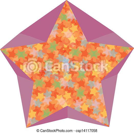 Vector de símbolo estelar - csp14117058