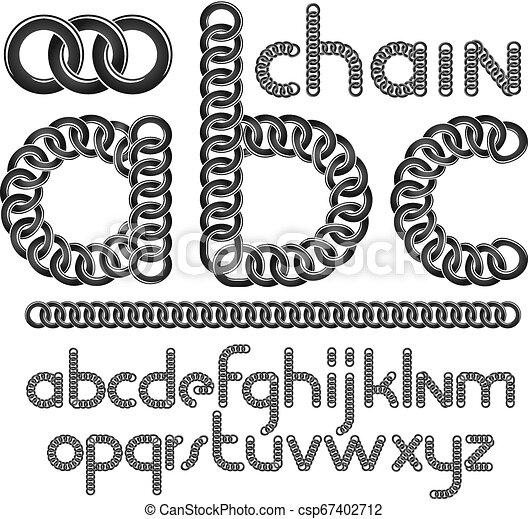 Vector Script Modern Alphabet Letters Abc Set Lower Case Creative Font